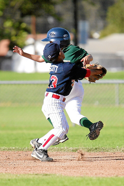 North Side All-Stars vs. Moorpark All-Stars. It was an exciting championship game, with Moorpark coming from behind to win 19 to 18. 2007 North Side Little League Baseball, Tee Ball Division