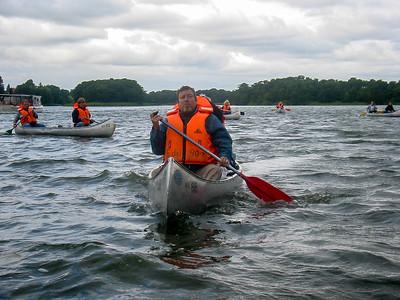 Kanotur på Mølleåen august 2005