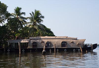 A Kerelan houseboat