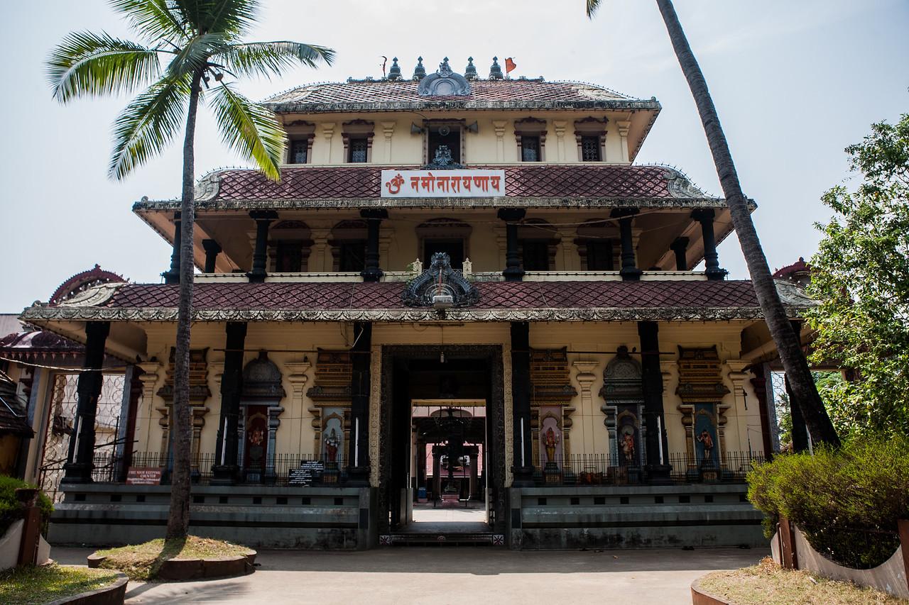 A temple in Fort Kochi area of Kochi, Kerala