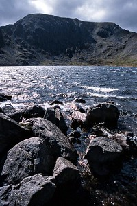 2003 : Helvellyn : the summit above Red Tarn