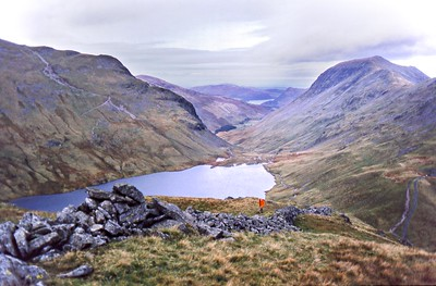 1986 : Grisedale Tarn from Seat Sandal