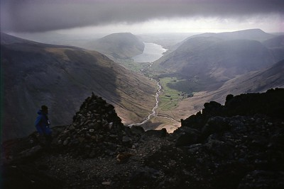 Great Gable : The Westmorland Cairn and Wasdale