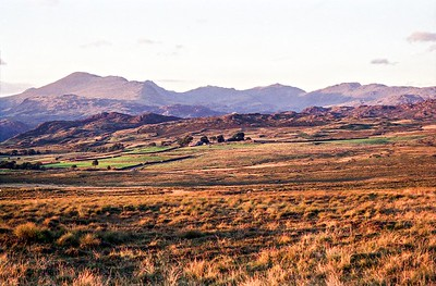 1987 : The Southern Fells Skyline From The South West
