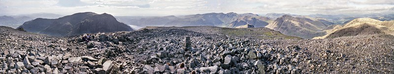 1987 : Scafell Pikes Summit Panorama