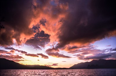 1999 : Derwent Water Sunset
