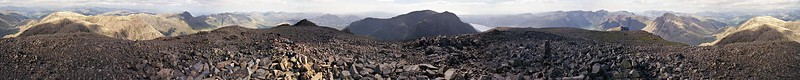 1987 : The Complete Scafell PIkes 360° Summit Panorama