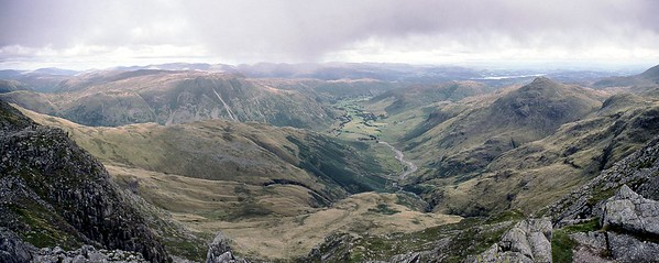 2003 : Great Langdale from Crinkle Crags