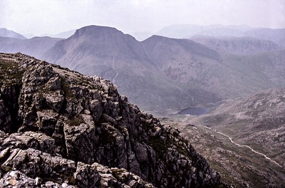 1999 : Great Gable and Sty Head Tarn from Great End