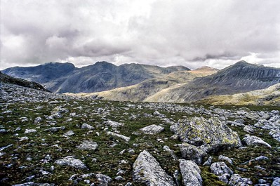 2003 : The Scafells From Crinkle Crags