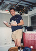 1990-09-03 Fishing Trip Ken Donaldson with Budweisers