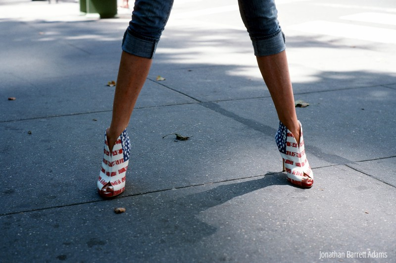 Star-Spangled Shoes, NYC