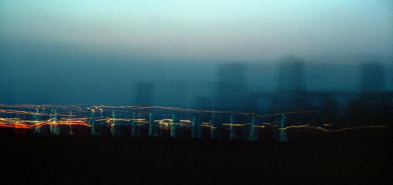 Druids before sunrise at Stonehenge (1984)