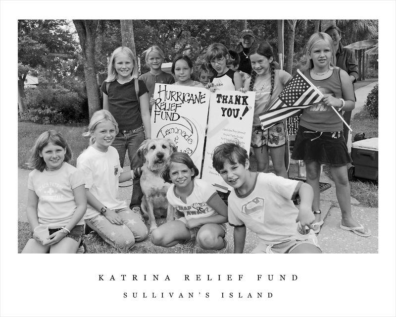 8 X 10 size Katrina Relief SI