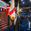 Final rehearsal prior to the opening of the 2012 Republican National Convention
