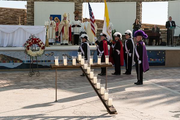 Veterans Day Memorial  Mass at Sarasota National Cemetery