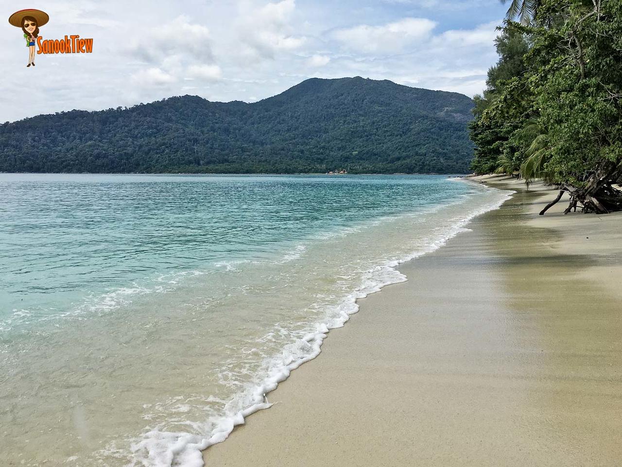 ความร่มรื่น สวยงาม และ เงียบสงบ ของ หาดซันเซ็ท