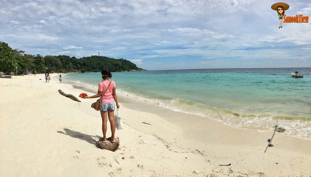 เกาะหลีเป๊ะ พักไหนดี นี่คือหาดพัทยาค่ะ