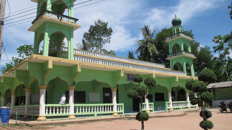 Mosque and School Baan Koh Pu Village Koh Jum