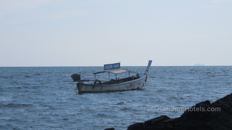 Golden Peral Longtail Boat Golden Pearl Beach Koh Jum