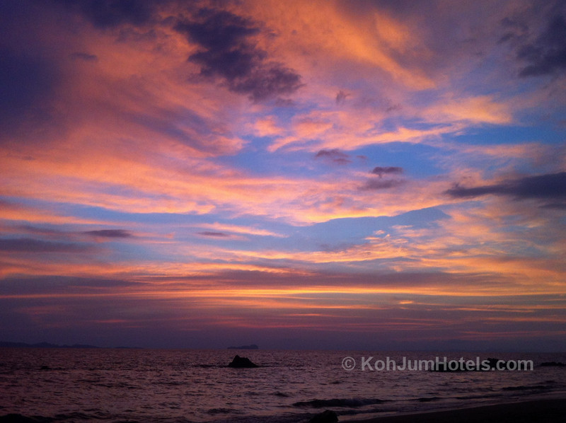 Sunset on Koh Jum
