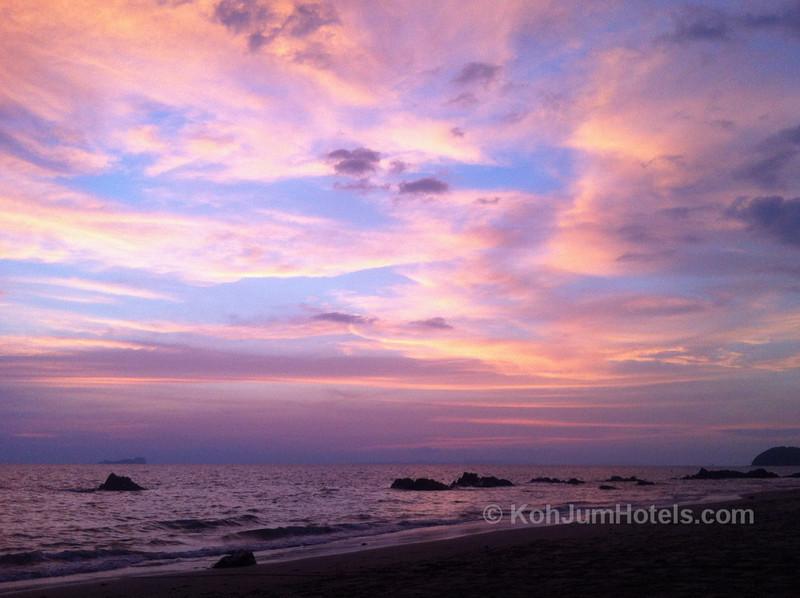Sunset on Koh Jum