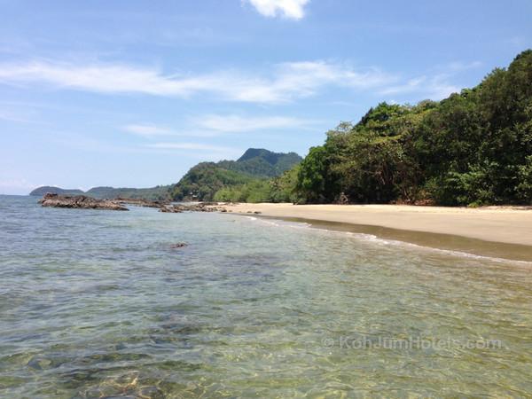 Ao Si Beach : Koh Jum
