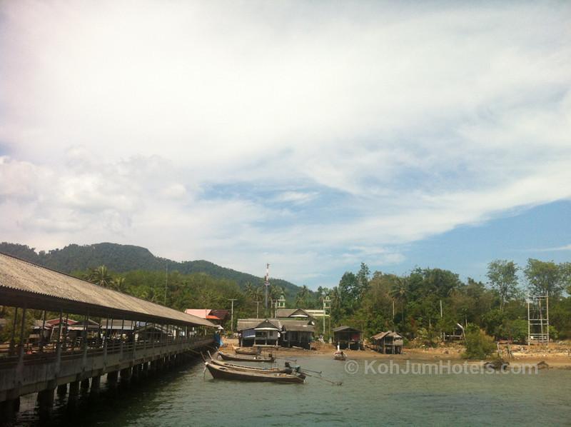 Koh Pu Village, Koh Jum