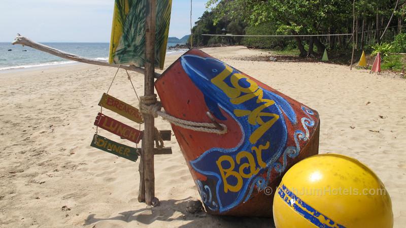 Bar Loma on Magic Beach Koh Jum