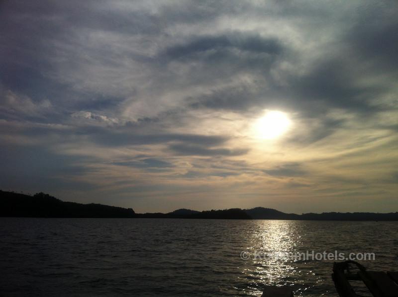 Laem Kruat Pier to Koh Jum sunset