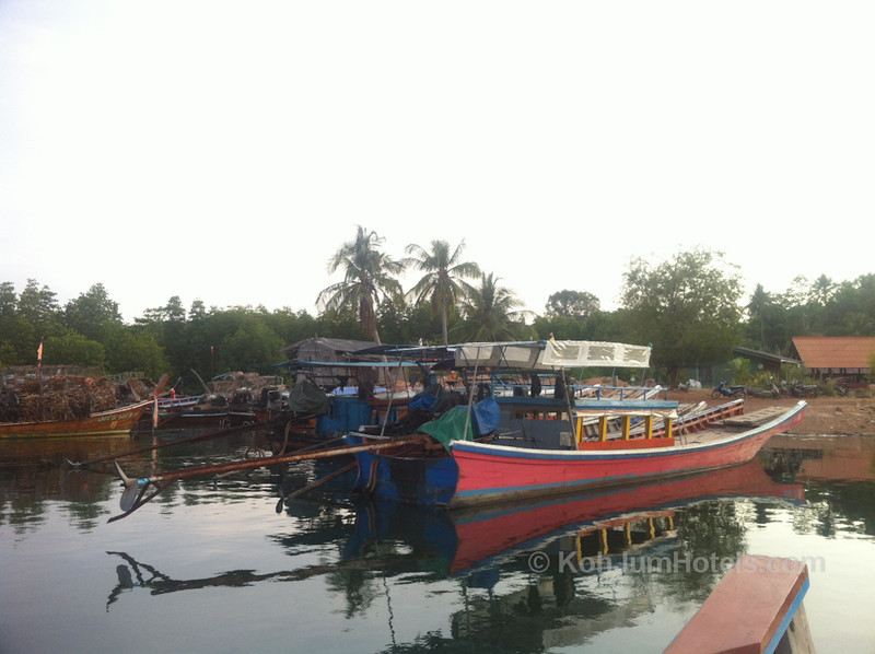 Koh Jum Transfer by Long Tail Boat