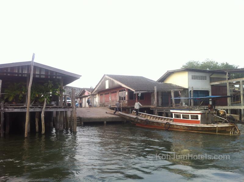 Laem Kruat Pier, Krabi