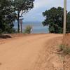 Road going to Ting Rai Beach Koh Jum