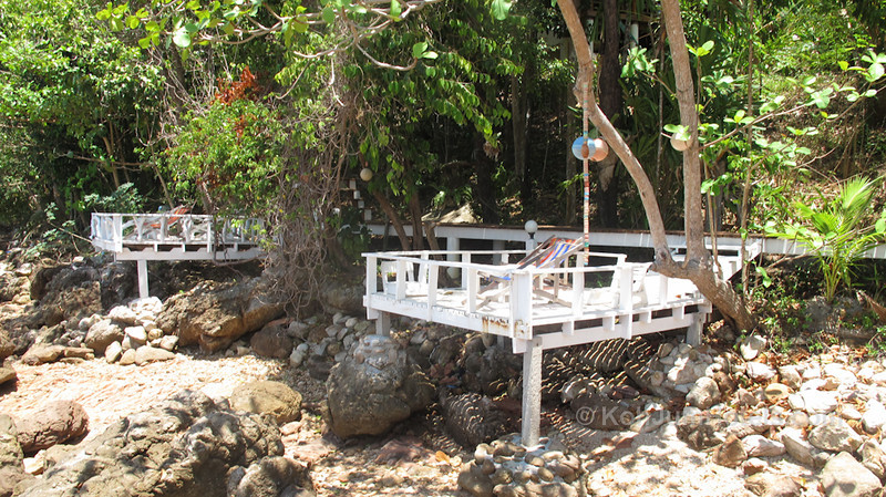 oonlee bungalows chill area Ting Rai Beach Koh Jum