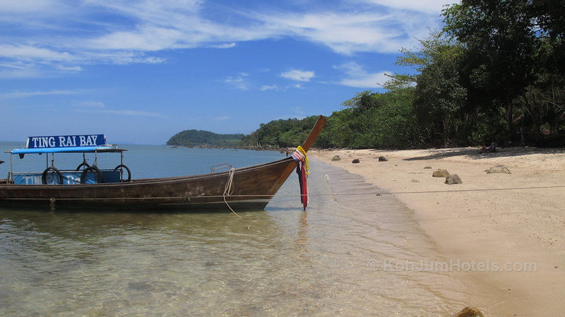 Ting Rai Bay Resort Longtail Boat Ting Rai Beach Koh Jum