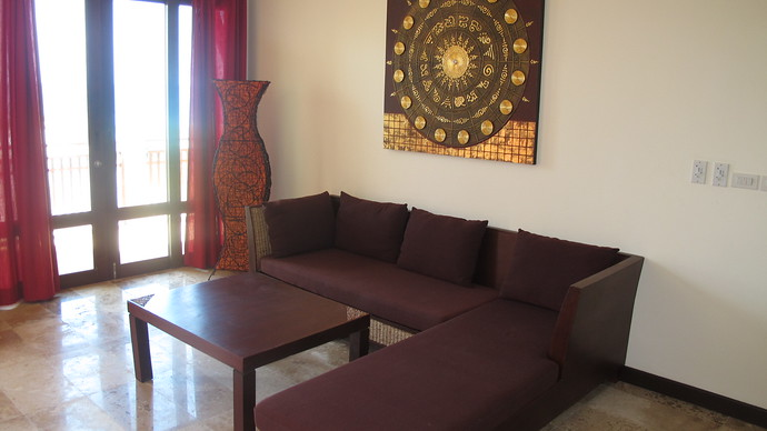 Khlong Nin Apartments Living area