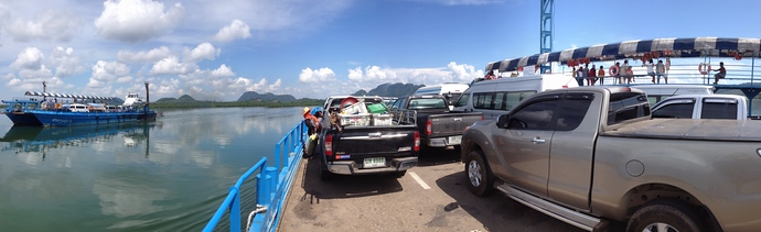 Koh Lanta car ferry