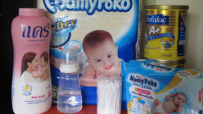 Baby Products can be found on Koh Lanta