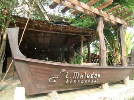 L Maladee Restaurant, Kawkwang Beach, Koh lanta