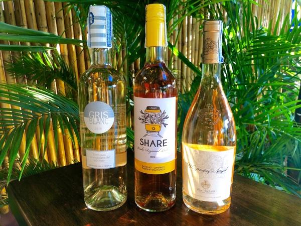 Selection of Rosé Wine served at Citrus Restaurant Koh Lanta