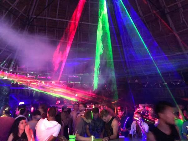 Koh Lanta Nightlife - The Ozone Bar Beach Party on a Thursday night