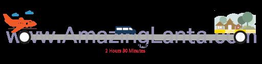 Krabi airport to Nakhon Si Thammarat minivan route