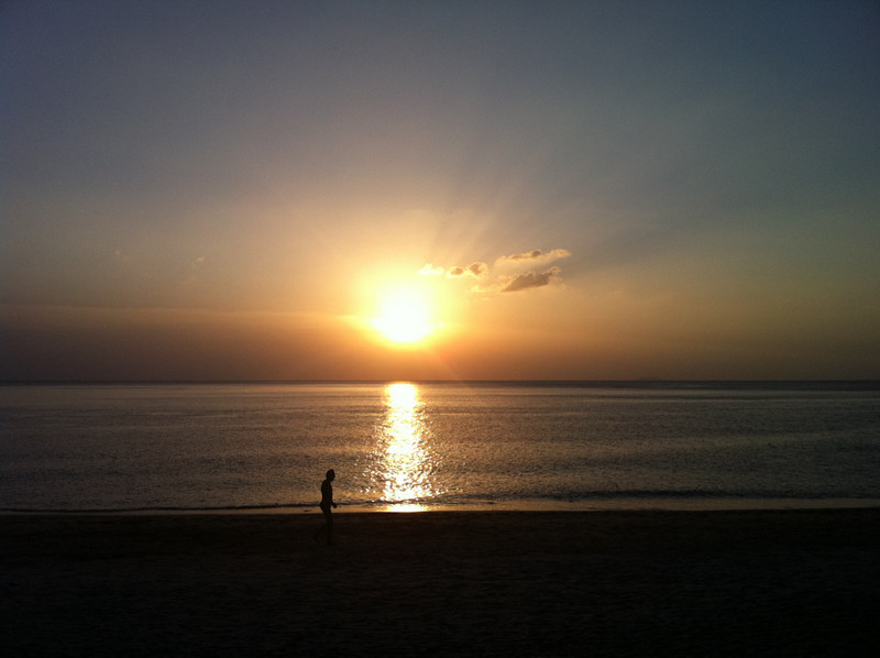 Sunset, Long Beach, Koh Lanta