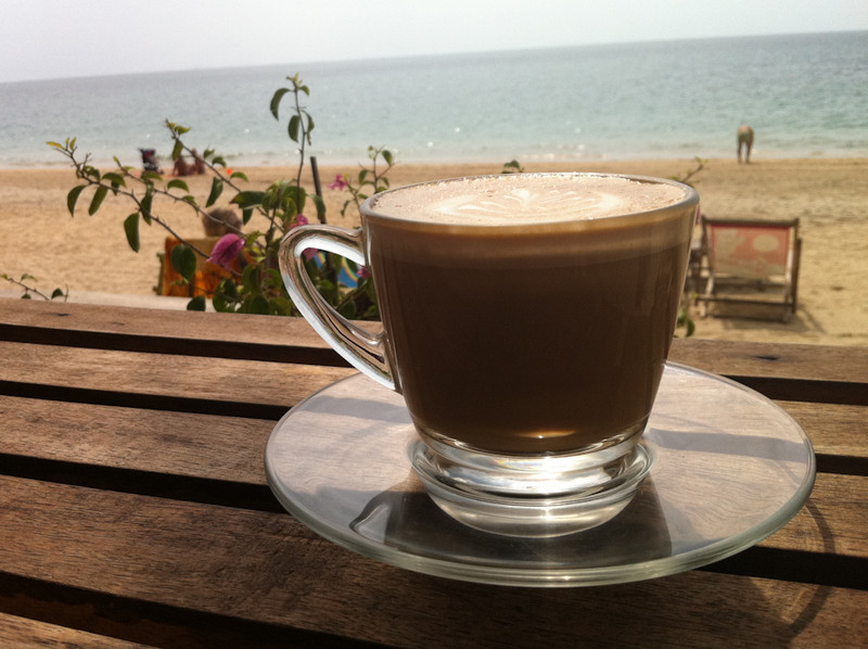 Suza Coffee, Long Beach, Koh Lanta - love the sofas
