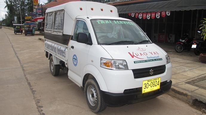 Taxi car on Koh Lanta
