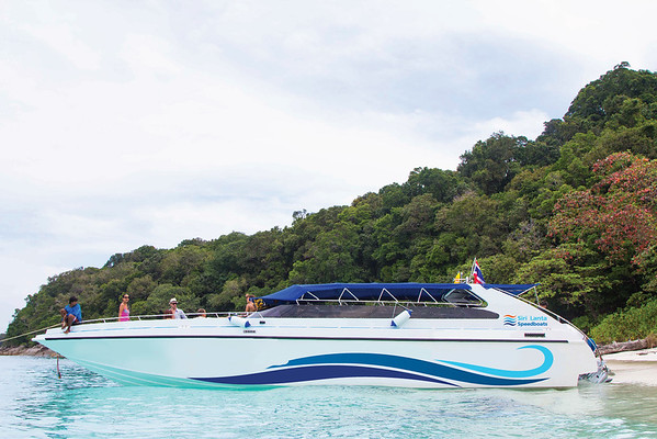 Speedboat from Koh Lipe to Koh Lanta