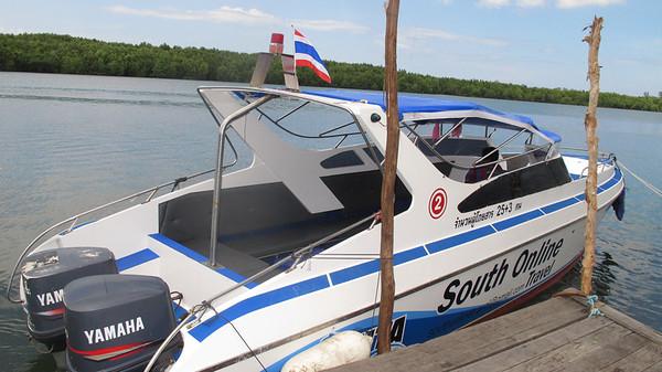 Koh Lanta Express Transfer Speedboat