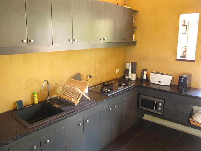 Fully equipped kitchen in the Alanta Villa