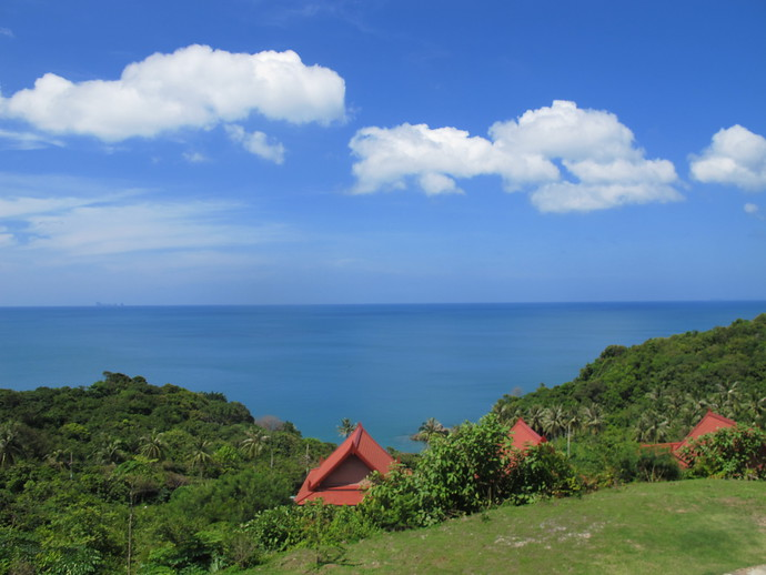 Amazing View from the Sea View Pool Villa Kantiang Bay