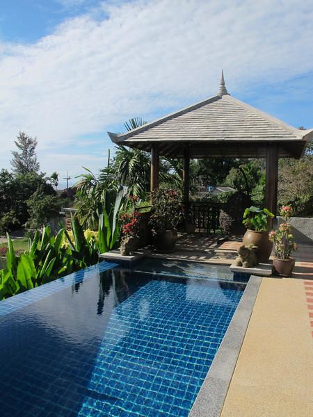 Klong Nin Pool Villa Pool and Sala (shaded area)